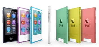 Apple new iPod nano