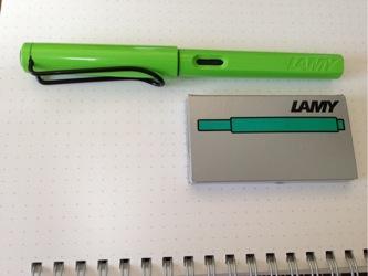 Lamy safari inc cartridge 1209202155