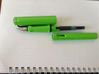 Lamy safari inc green cartridge 1209202150