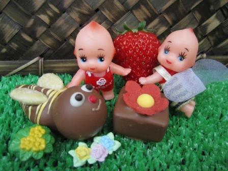 blog用チョコ&キューピー
