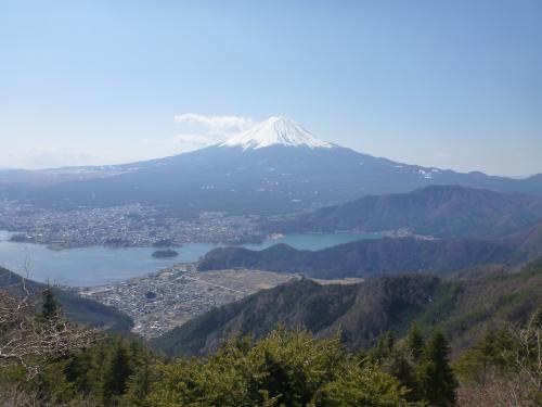 河口湖と富士山(2)
