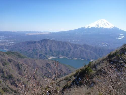 富士山と西湖3)