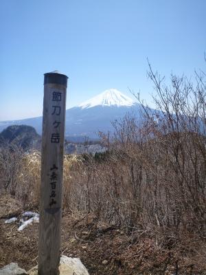節刀ヶ岳(2)