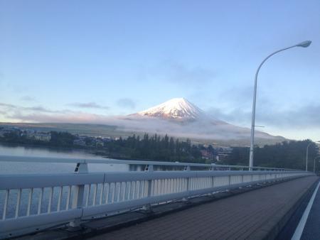 河口湖大橋からの富士山(2)