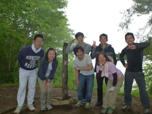 蛭ヶ岳山頂のみんな(3)