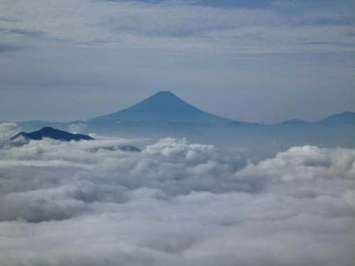 雲海の富士(2)