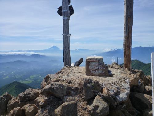 赤岳山頂(2)