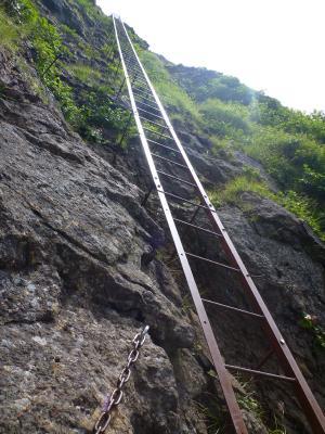 長い梯子(2)