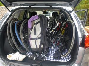 自転車を車に(2)