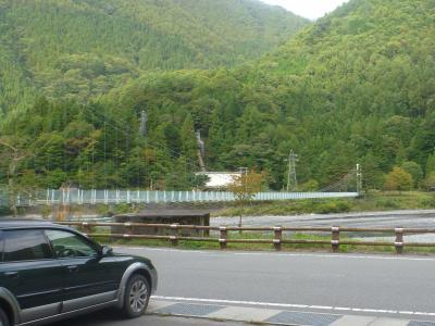 奈良田吊り橋(2)