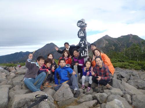 編笠山山頂(2)