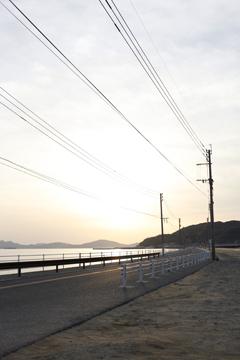 志賀島の夕暮れ