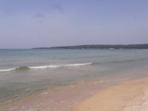 きれいな海 クリックで拡大