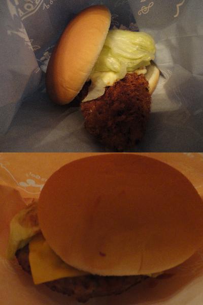 ケープコッド ハンバーガー1