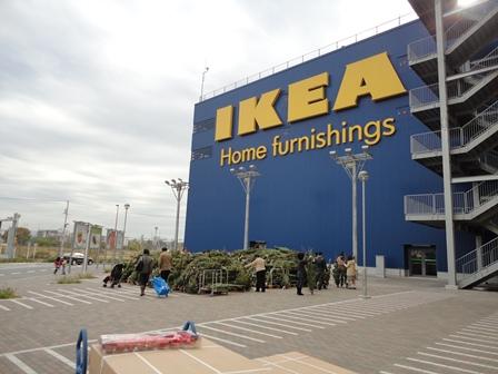 IKEAクリスマスツリーを購入2010 (3)