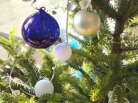 もみの木のクリスマスツリー20107