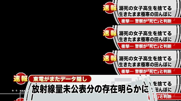 テロップ│メ~テレ・テレビ朝日を見て一言