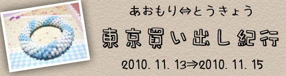 2010東京買い出し紀行