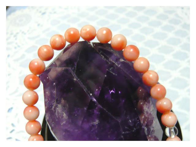 珊瑚?の数珠