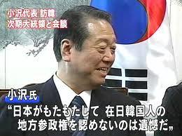 外国人参政権1