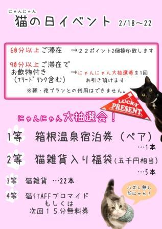 猫の日大抽選大会20110217
