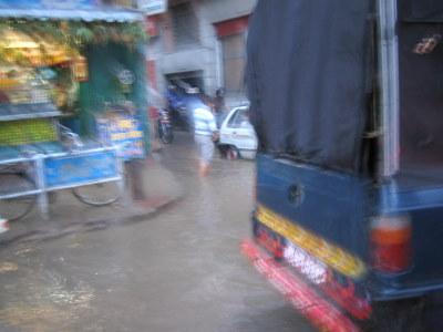 洪水カトマンズ