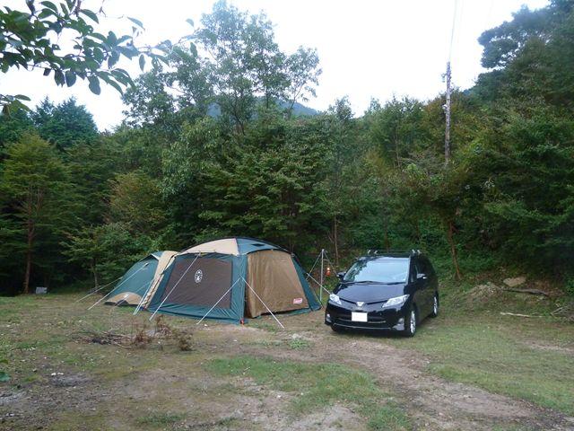 2012/9/28岳人の森 観月キャンプ