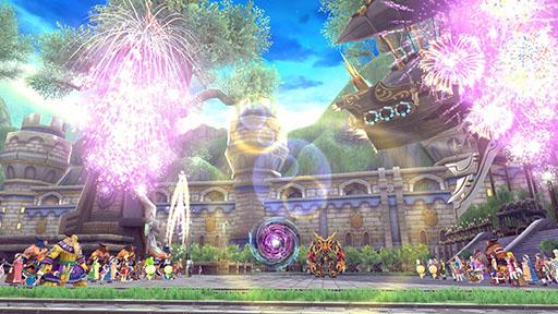 『 幻想神域 -Innocent World- 』パレードを盛り上げる花火が盛大に打ち上がります!