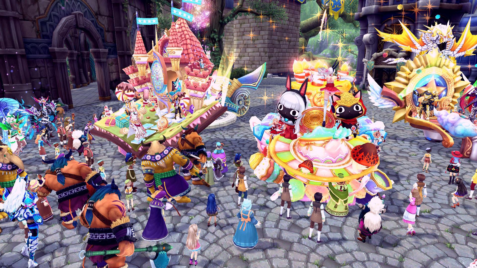 『 幻想神域 -Innocent World- 』パレードを見物してイベント限定の特殊能力効果を獲得しよう!