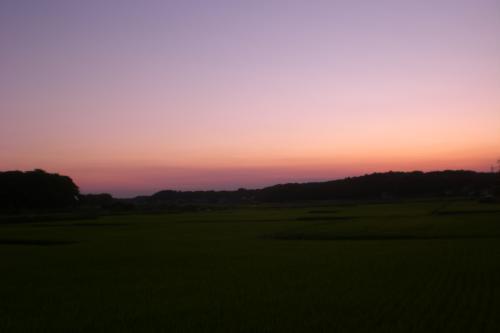 吉橋の黄昏