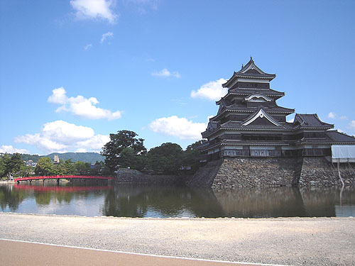 松本城の天守閣⑤