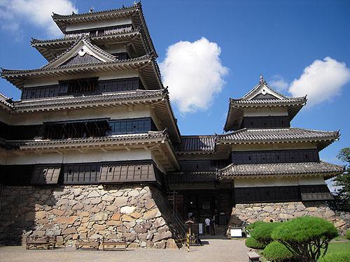 松本城の天守閣②