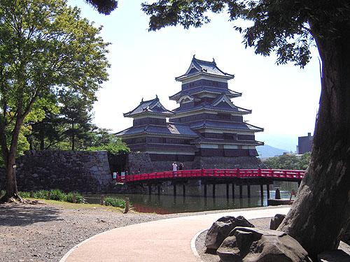 松本城の天守閣⑨