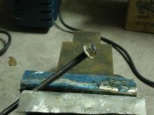 寸切りボルト溶接