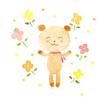 アーティストママのつれづれ日記-絵本イラスト水彩5