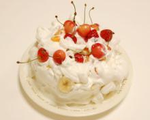 アーティストママのつれづれ日記-手づくり誕生日ケーキ作り方