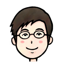 アーティストママのつれづれ日記-伊藤英樹いとうひでき似顔絵