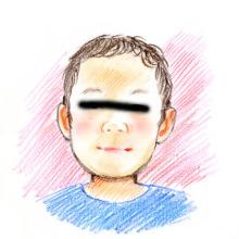 アーティストママのつれづれ日記-似顔絵