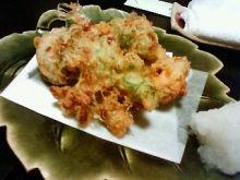 アーティストママのつれづれ日記-納豆の天ぷら