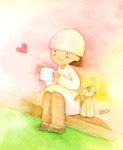 アーティストママのつれづれ日記-水彩イラスト描き方