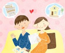 アーティストママのつれづれ日記-新婚イラスト