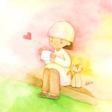 アーティストママのつれづれ日記-癒し系かわいいイラストアナログ