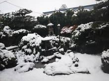 アーティストママのつれづれ日記-彦根の雪
