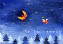 アーティストママのつれづれ日記-冬クリスマスイラスト