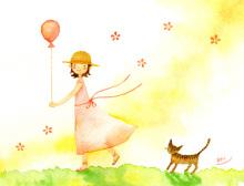 アーティストママのつれづれ日記-水彩イラスト