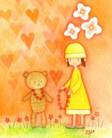 アーティストママのつれづれ日記-水彩癒しイラスト