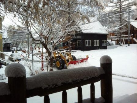 ニセコ除雪車