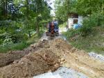 埋設溝掘り5