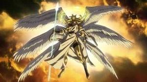 仁王立ちの天使