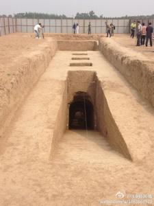 上官婉児の墓